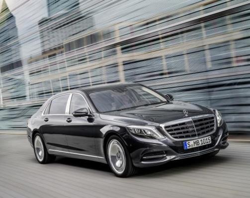La Clase S de Mercedes Maybach: lujo a raudales