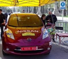 Nissan Leaf segundo en el Eco Rally RACC