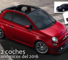 12 coches más económicos del 2016