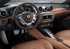 Ferrari California T - interior