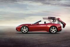 Ferrari California T - despliega capota techo