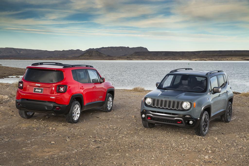 2015 Jeep Renegade -Modelos Latitude y Trailhawk