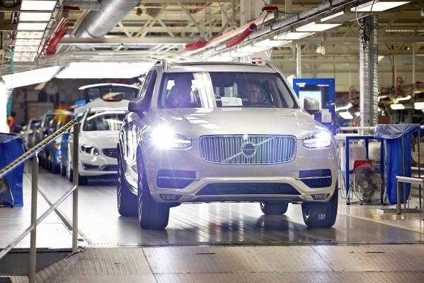 El nuevo XC90 de Volvo llegará en Junio 2015
