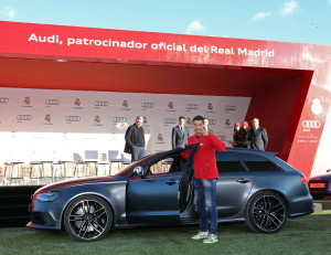 Entrega Audi-Real Madrid