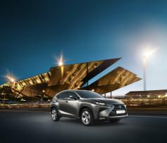 El nuevo NX- Lexus entra en el segmento de los SUV de tamaño medio