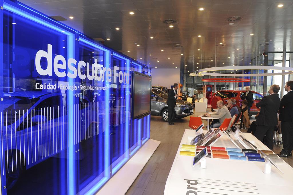 La Primera Ford Store de Europa
