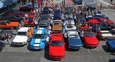 El nuevo Ford Mustang participa en el mayor encuentro Mustang en Europa para celebrar su 50 aniversario