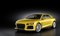 Audi Sport Quattro Concept Frontal