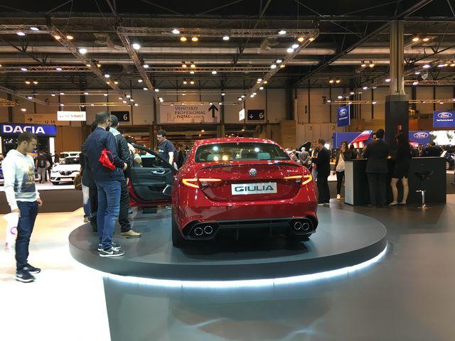 Alfa Romeo Giulia Quadrifoglio Verde Trasera