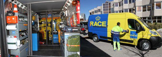 Asistencia para extracción de combustible del RACE