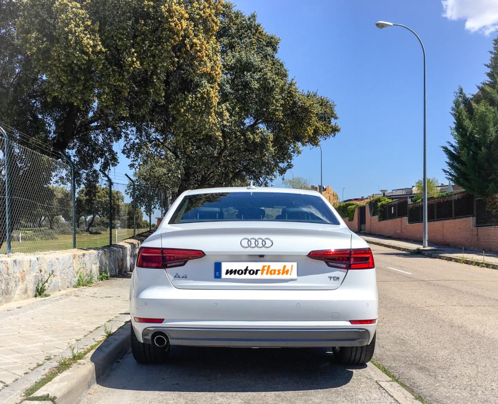 Audi A4 Trasera