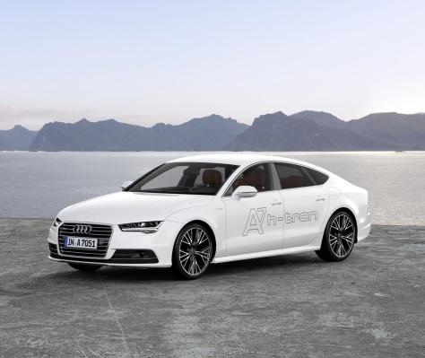 El Audi A7 Sportback H-Tron se une a la fiesta de la pila de combustible