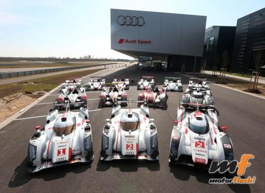 Audi campeones le mans 24 h_result