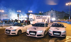 "Audi celebra ""LA DÉCIMA"" con el Real Madrid"