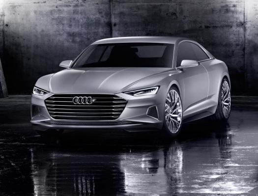 El Audi Prologue inaugura un nuevo estilo y adelanta el futuro A9