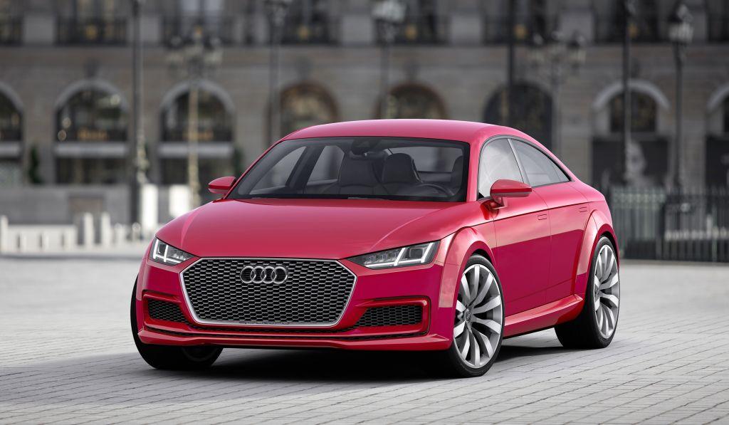 Audi TT Sportback concept: la deportividad del Audi TT rediseñada