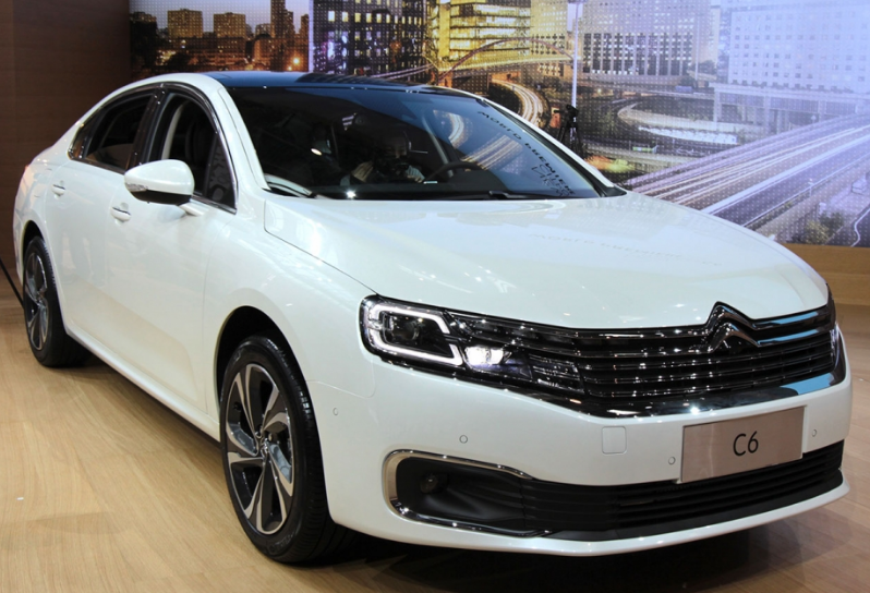 AutoChina 2016 - Citroen C6