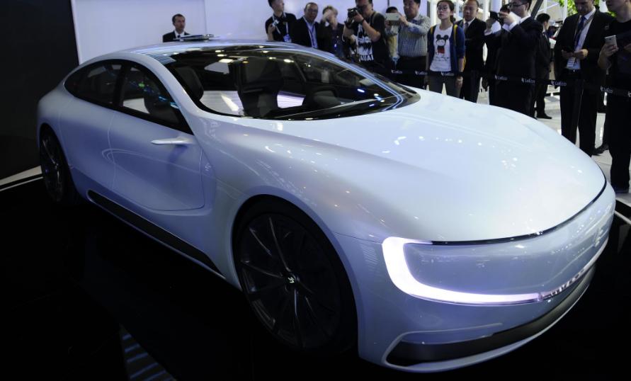 AutoChina 2016 - Leeco LeSEE