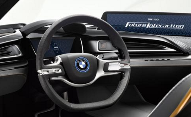 BMW i Future Vision Interaction