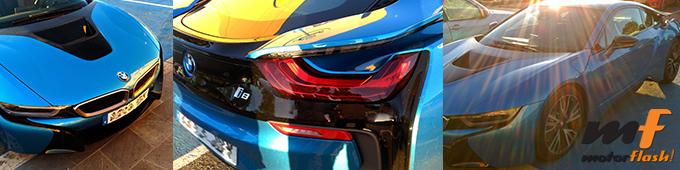 BMW i8 de jugador de fútbol Giménez Atlético de Madrid