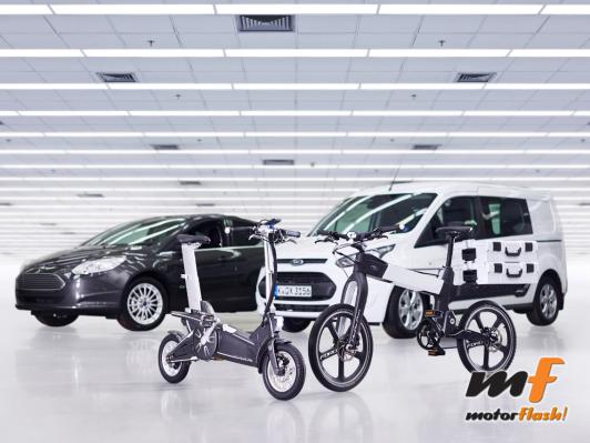 Bicis electricas y coches smartmob