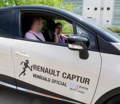 Renault Captur coche oficial de la carrera de la mujer 2014