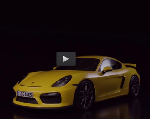 Ver online y en directo la presentación del Porsche Cayman GT4 y Porsche 911 GT3 RS