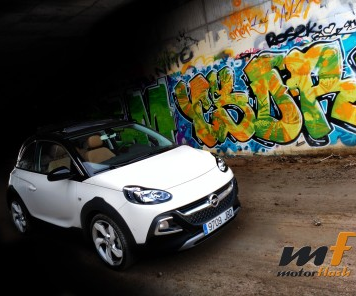 Prueba del Opel Adam Rocks 1.0 t, un alemán italiano y viceversa