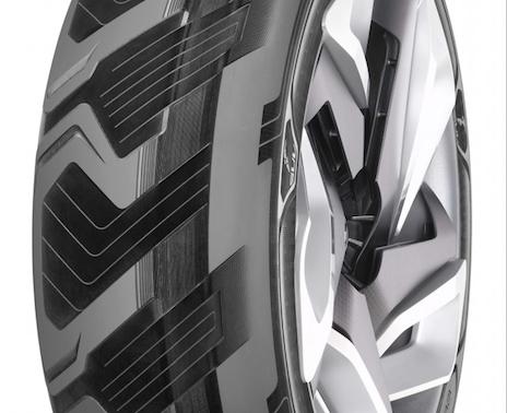 Cómo funciona el nuevo neumático que produce electricidad