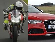 ¿Es más rápida una moto o un coche? Los mejores vídeos