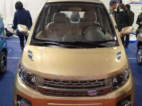 La copia china del Range Rover Evoque