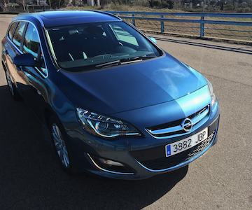 Opel Astra familiar, el Sports Tourer a prueba