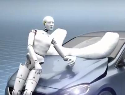 Así funciona el airbag para peatones del Volvo V40