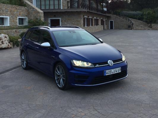 Volkswagen Golf Variant R, prueba en el Circuito de Ascari