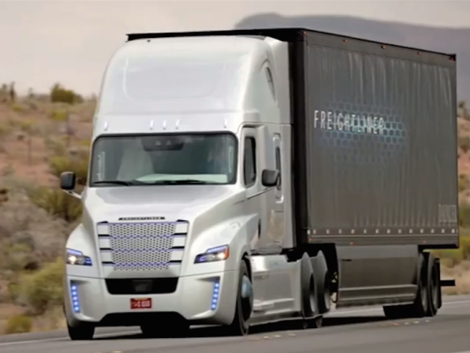 Los Simpson volvieron a adelantarse: El camión autónomo ha llegado