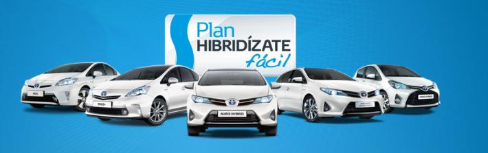 Híbridos de Toyota en promoción
