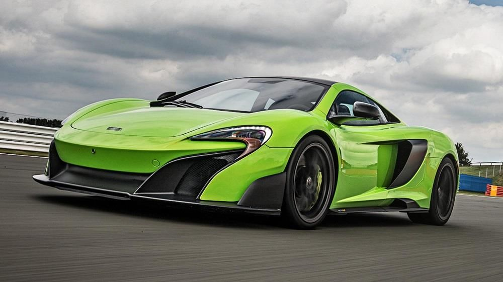 Cholmondeley Power and Speed - 2016 McLaren 675LT