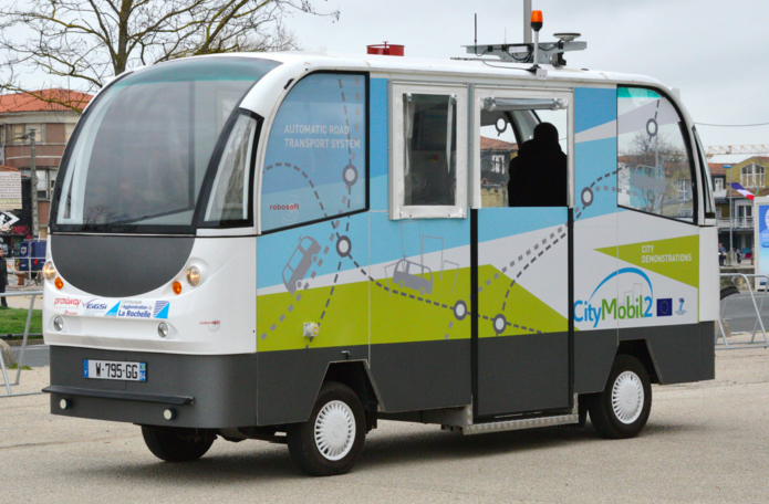 Vehículos Autónomos - CityMobil2
