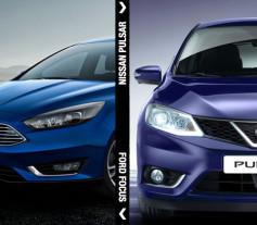 Compactos comparativa Ford Focus vs. Nissan Pulsar