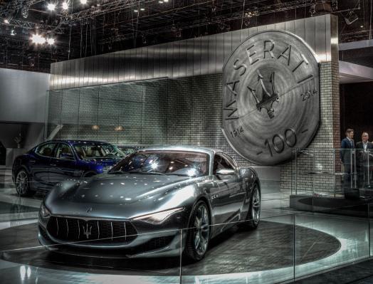 Maserati en el Salón de los Angeles