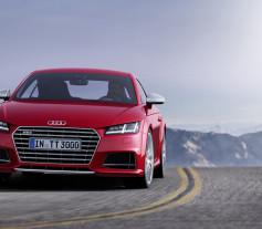 Nuevo Audi TT 2014 - Frontal carretera