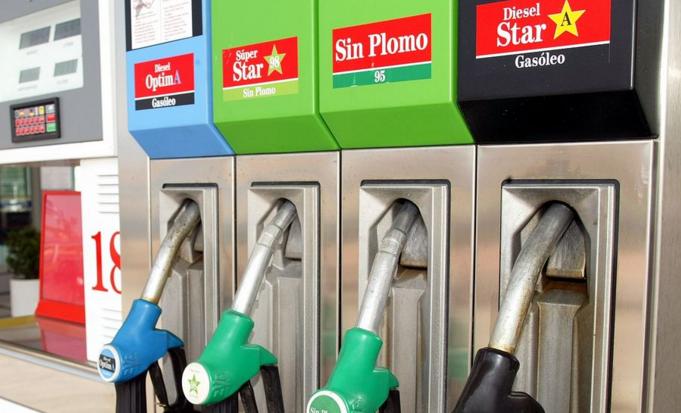 Equivocarse con el combustible