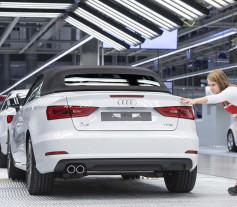 Exito de Audi en el primer trimestre