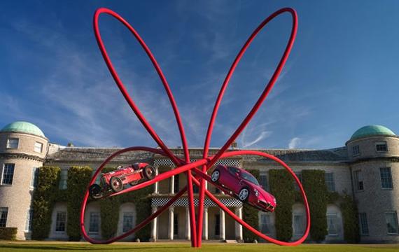 Goodwood - Gerry Judah - Alfa Romeo