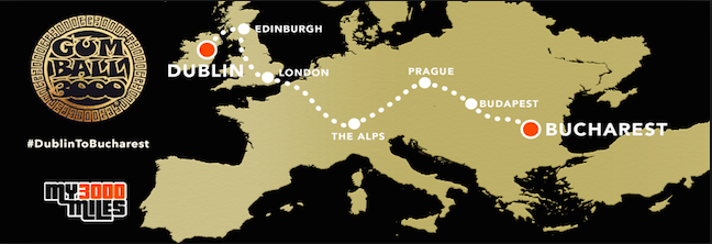 Gumball 3000 Mapa