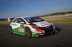 Honda desata el Músculo del Nuevo Civic WTCC 2014