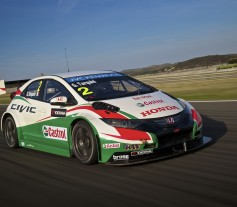 Honda Civic 2014 WTCC - test valencia