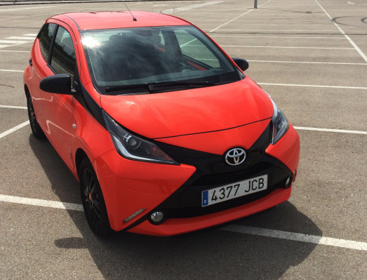 Prueba Toyota Aygo x-cite 1.0 2015