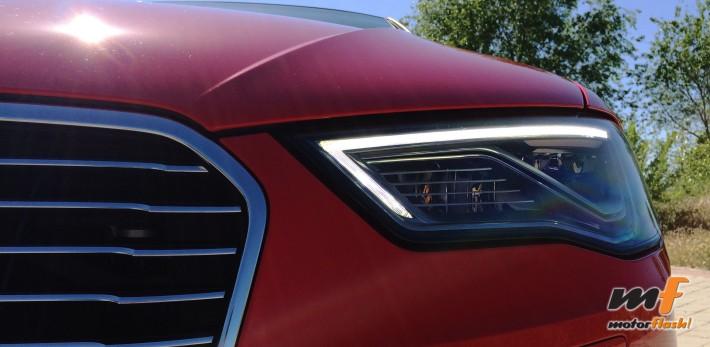 Detalle luces LED diurnas Audi e tron