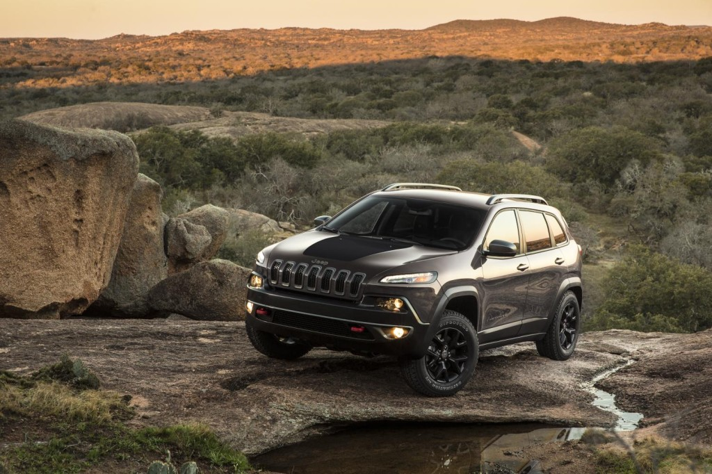 Jeep Cherokee Frontal 2014